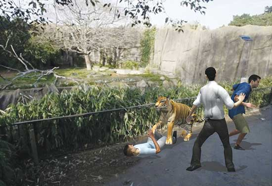 The San Francisco Zoo tiger escape and attack