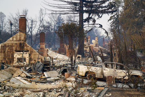 Wildfire victims' insurance fight
