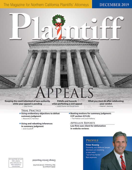 Plaintiff Dec19 cvr