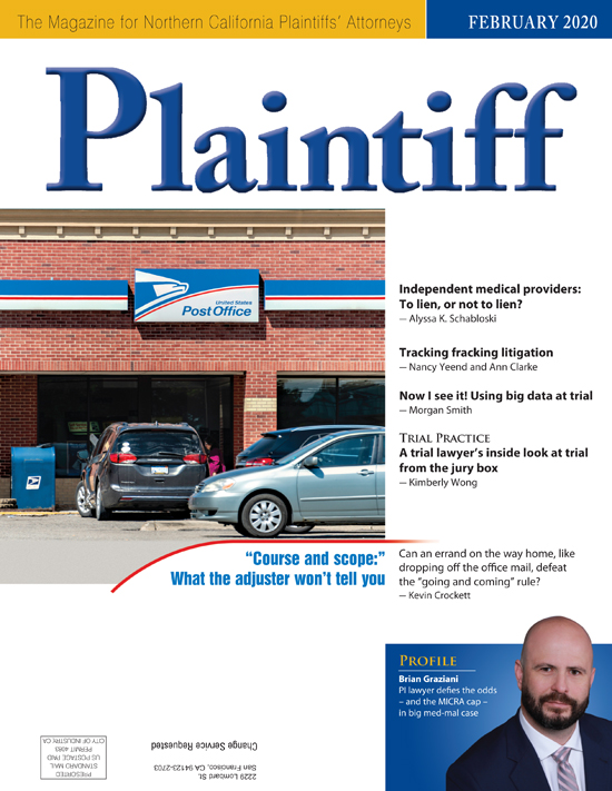 Plaintiff Feb20 cvr