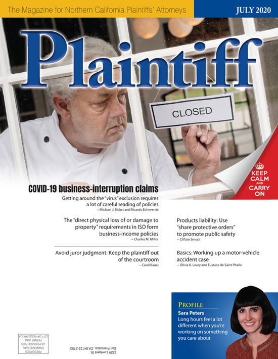 Plaintiff July20 cvr