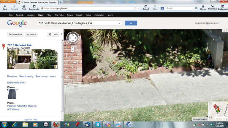 Authenticating Google Street View photos for use at trial