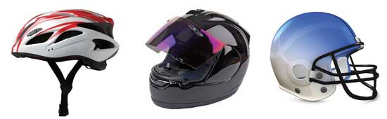 Helmets and head-impact protection