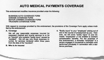Med-pay lien claims